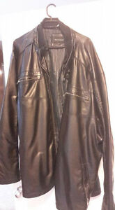4xl tall. Britches leather jacket -reduced to sell-