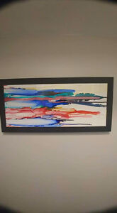 Alcohol ink wall art