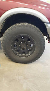 LT265/75R16 Studded General Grabber AT2 on Eagle Alloys wheels