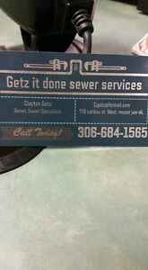 getz it done sewer services. Moose Jaw Regina Area image 1