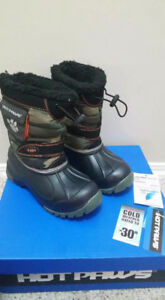 Brand New Boys Winter Boots - Size 13 - $35