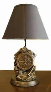 NFL Lamp Statue - Pittsburgh Steelers