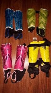 YTH Soccer shoes, shin pads and Hockey elbow pads