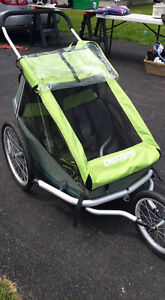 Croozer Double Jogging Stroller and Bike Trailer