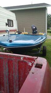 bateau a echanger contre moteur hors bord
