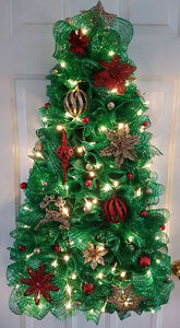 handmade Christmas tree wreath Windsor Region Ontario image 1