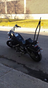 Modified Honda shadow to ride or for parts. Last chance.