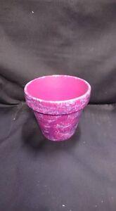 Pink & Purple Flower Pot