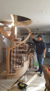 Aerowood Stairs and Railings in GTA