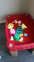Step 2 Table, Lid & Toys