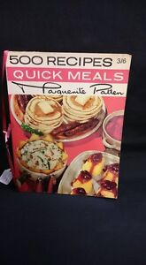500 Recipes Quick Meals: Marguerite Patten