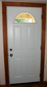 Entryway steel door