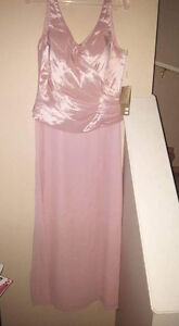 Dusty Rose Evening Gown Strathcona County Edmonton Area image 1