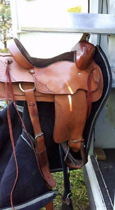 Custom Ron's Saddlery Western Saddle
