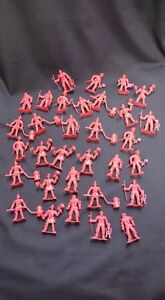 Set Of Vintage Red Firemen