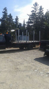 For sale . Ford f450 and log loader