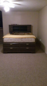 Queen Size Captain's Bed with 12 Drawers