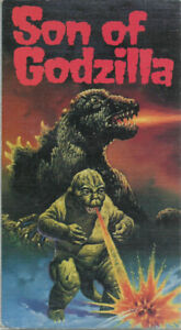 vhs Son if Godzilla used vhs in good condition +++++++++++++++++
