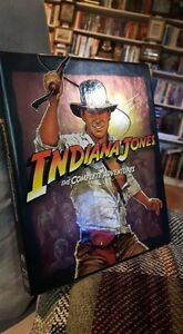 Indiana Jones: The Complete Adventures Blu Ray Set For Sale