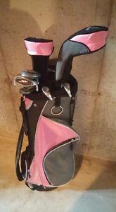 Ladies golf club and bag