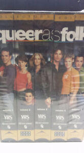 Queer As Folk VHS collection