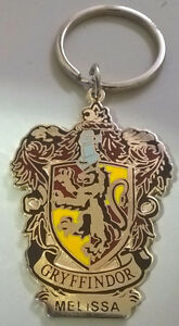 Harry Potter Souvenir Keychain Gryffindor with Name Melissa
