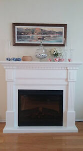 Almost New Electrical Fireplace for Sale! West Island Greater Montréal image 1