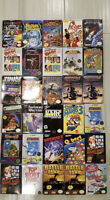 NES boxed games