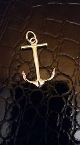 Sterling Silver Anchor Pendant Windsor Region Ontario image 1