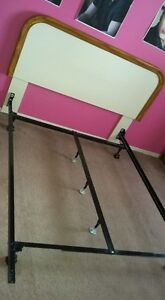 Double bed frame all most new and headboard good condition Peterborough Peterborough Area image 1