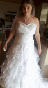 robe marier a vendre taille 16