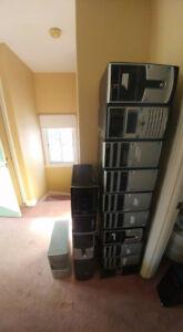 Computer cases good shape / boitier ordinateur bon état x16