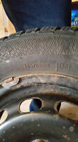 4 Winter Ford Focus Tires