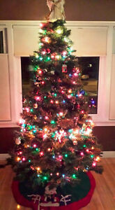 Home Accents Holiday 7.5 ft Balsam Fir Full Tree Kitchener / Waterloo Kitchener Area image 1