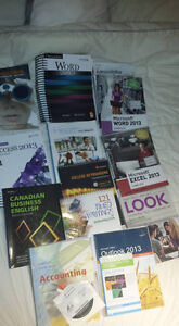 1st Year Office Admin Books - Lambton College