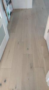 180 sq ft Engineered Hardwood (Oak)