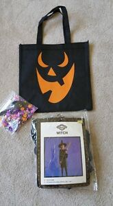 Halloween--Clean-- Youth Size Witch Costume & Treat Bag--Yorkton