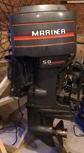 50 HP Mariner Outboard motor