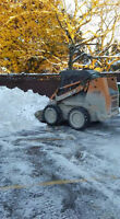 Snow Removal & Skidsteer Services