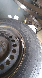 Snow   Tires   on  GM  Rims