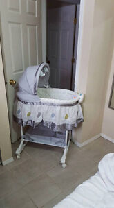 Bassinet, Baby Swing and Vibrating/ Swinging Chair