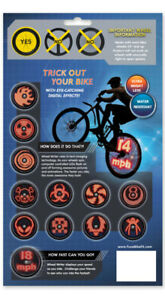 NEW:Fuze Bike Wheel Writer *More safety when riding at night**