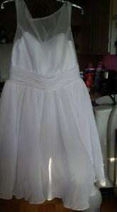 Short style Wedding dress