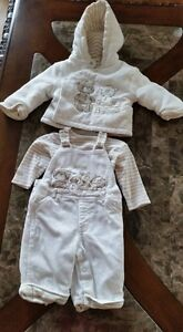 3 pcs boys outfit 6-9 mos