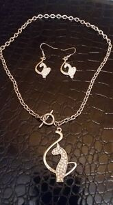 Baby Phat Necklace and earring set