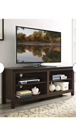 Camacho TV stand from Wayfair colour traditional brown