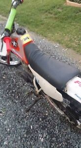 I have a 1990 Honda xr80r for sale or trades! 650$ OBO