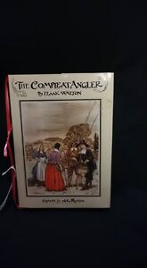 The Compleat Angler Book By izaak Walton Illustrated By Arthur R