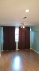 1 bedroom above ground basement apartment