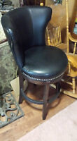 leather chair that swivels